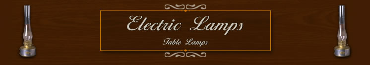 Daniel Joseph | Electric Lamps